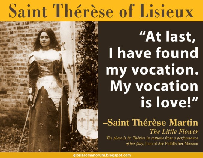 StTherese - vocation is love